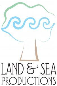 Land & Sea Productions logo.