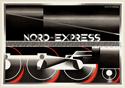 Horizontal Nord Express by Cassandre