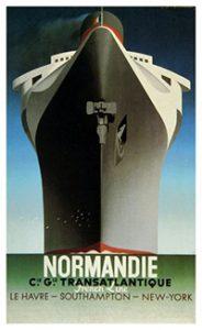 Normandie by Cassandre