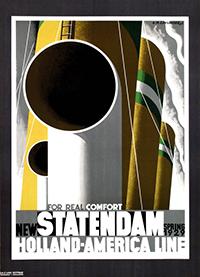Statendam by Cassandre