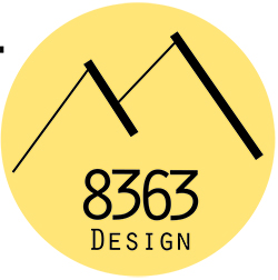8363 Design Logo